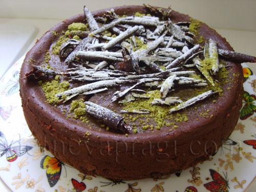 Çikolatalı Cheese Kek