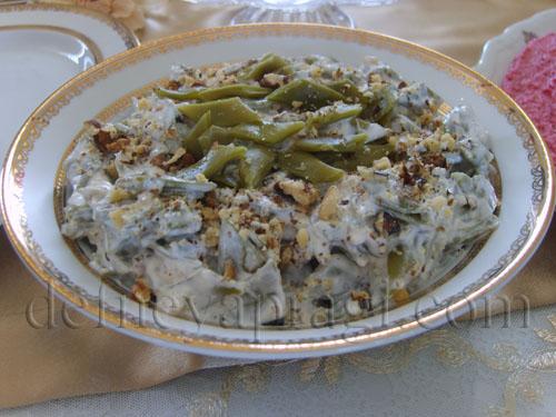 Cevizli Fasulye Salatası