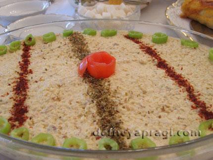 Fındıklı Bulgurlu Salata