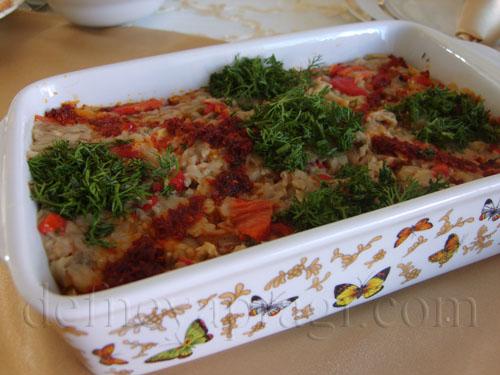 Tahinli Patlıcan Salatası